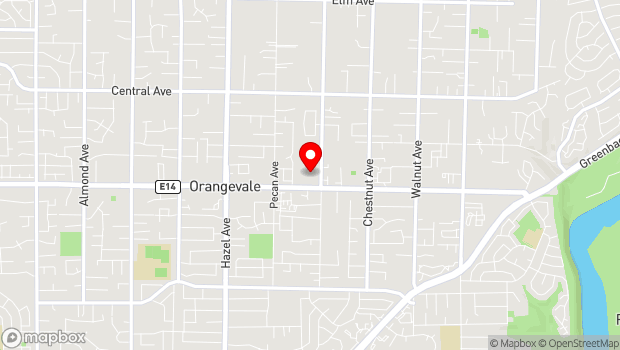 Google Map of 9079 Greenback Lane, Orangevale, CA 95662