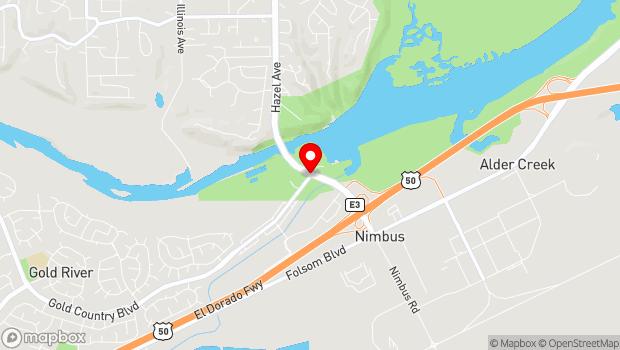 Google Map of 1901 Hazel Ave, Gold River, CA 95670
