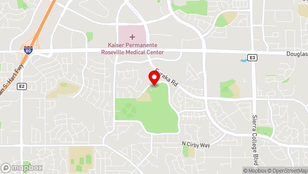 Google Map of 1970 Johnson Ranch Drive, Roseville, CA 95661