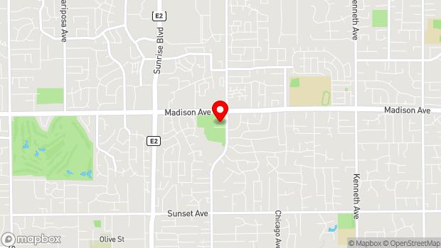 Google Map of 11601 Fair Oaks Blvd., Fair Oaks, CA 95628