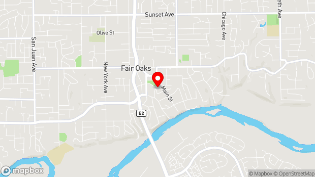 Google Map of 4150 Temescal Street, Fair Oaks, CA 95628