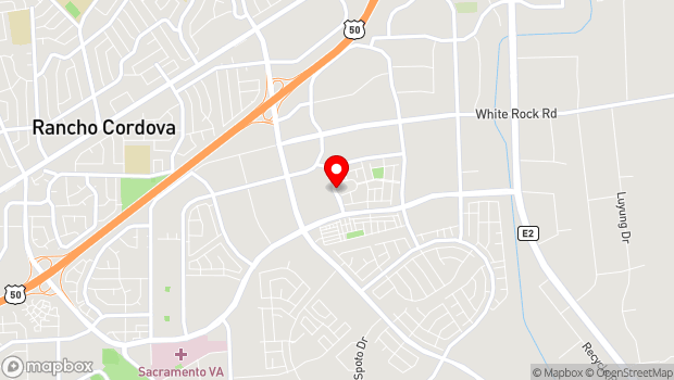 Google Map of 3141 Bridgeway Dr, Rancho Cordova, CA 95670