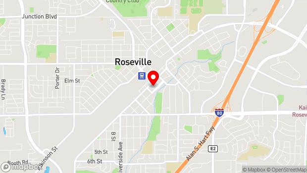 Google Map of 311 Vernon Street, Roseville, CA 95678