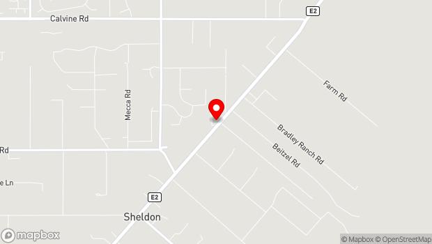 Google Map of 8718 Grant Line Rd, Elk Grove, CA 95624