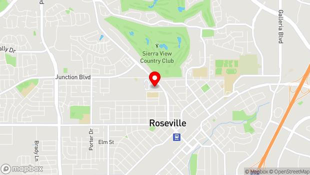 Google Map of 800 All America City Blvd., Roseville, CA 95678
