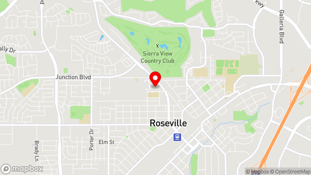 Google Map of 800 All America City Blvd., Roseville, CA 95678