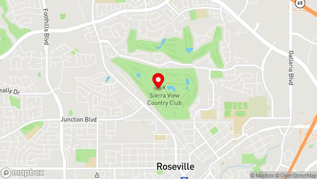 Google Map of Roseville, CA 95678