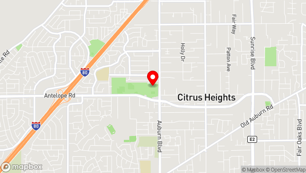 Google Map of 7801 Auburn Blvd, Citrus Heights, CA 95610