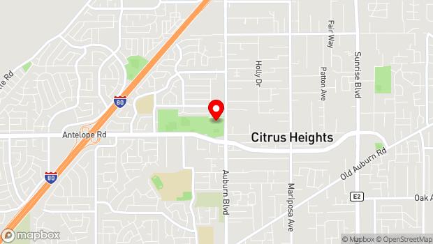 Google Map of 7801 Auburn Blvd, Citrus Heights, CA 95610