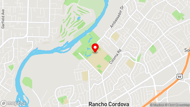 Google Map of 2239 Chase Dr., Rancho Cordova, CA 95670