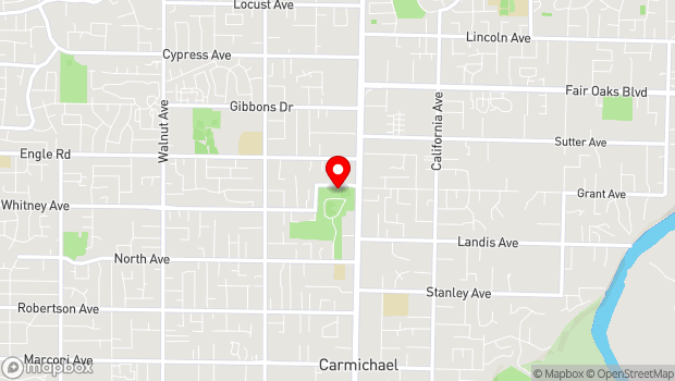 Google Map of 5750 Grant Ave., Carmichael, CA 95608