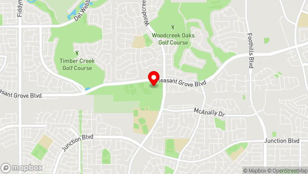 Google Map of 1501 Pleasant Grove Blvd., Roseville, CA 95747