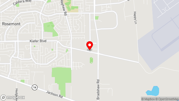 Google Map of 4145 Branch Center Rd, Sacramento, CA 95827