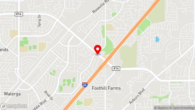Google Map of 5132 Elkhorn Blvd., Sacramento, CA 95842