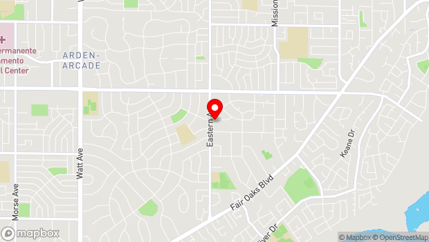 Google Map of 4300 Las Cruces Way, Sacramento, CA 95864