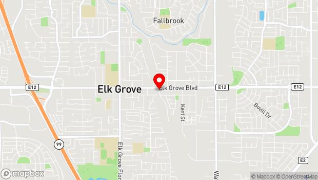 Google Map of 9615 Railroad Street, Elk Grove, CA 95624