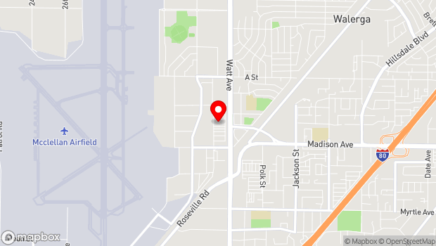 Google Map of 3410 Westover St. , McClellan, CA 95652