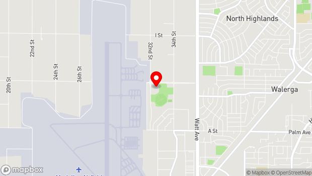 Google Map of 3200 Freedom Park Drive, McClellan, CA 95652