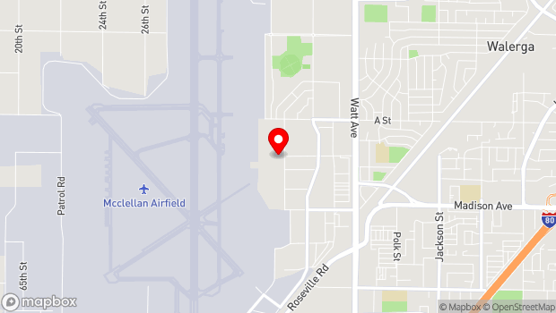 Google Map of 5411 Luce Avenue, Sacramento, CA 95652