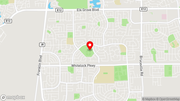 Google Map of 5540 Bellaterra Drive, Elk Grove, CA 95758