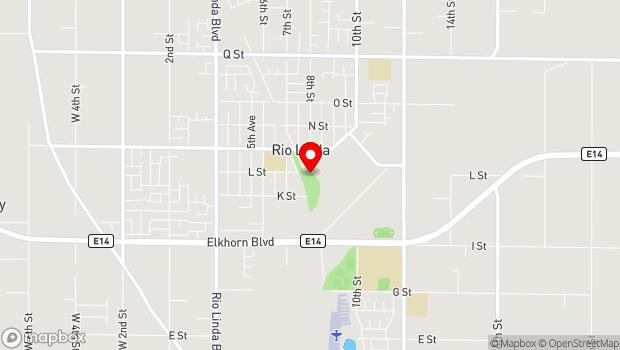Google Map of 810 Oak Ln., Rio Linda, CA 95673