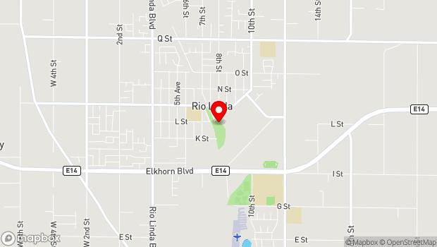 Google Map of 810 Oak Lane, Rio Linda, CA 95673