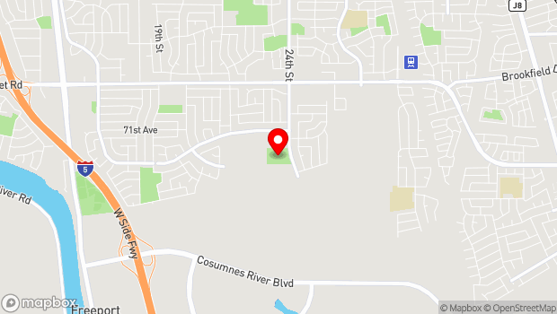 Google Map of 7760 24th Street, Sacramento, CA 95832