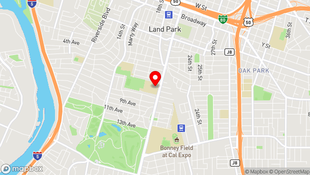 Google Map of 3066 Freeport Blvd., Sacramento, CA 95818