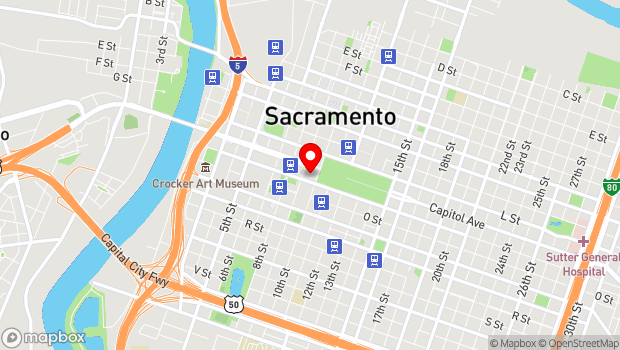 Google Map of 914 Capitol Mall, Sacramento, CA 95814