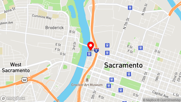 Google Map of 101 I Street, Sacramento, CA 95814