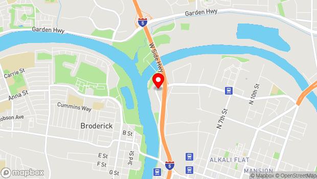 Google Map of 221 Jibbom Street, Sacramento, CA 95814