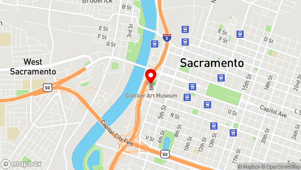 Google Map of 211 O Street, Sacramento, CA 95816