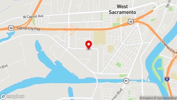 Google Map of 1520 Terminal St., West Sacramento, CA 95691