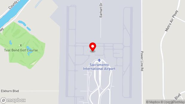 Google Map of 6900 Airport Boulevard, Sacramento, CA 95837