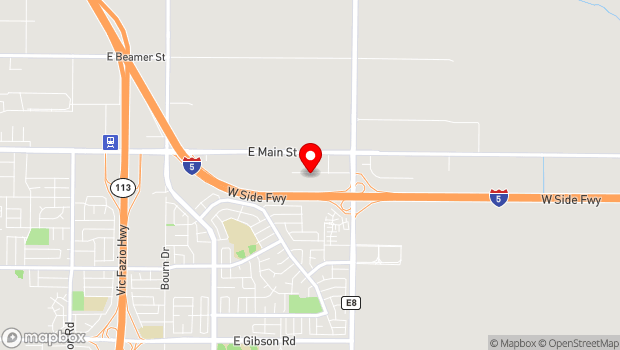 Google Map of 1962 Hays Lane, Woodland, CA 95776