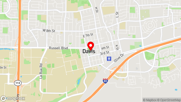 Google Map of 401 C Street, Davis, CA 95616