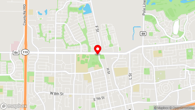 Google Map of 1919 F Street, Davis, CA 95616