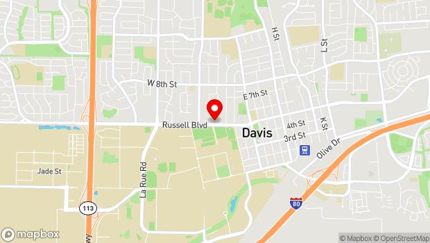 Google Map of 10 College Park, Davis, CA 95616