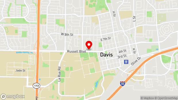 Google Map of 10 College Park, Davis, CA 95616