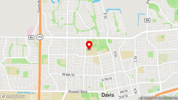 Google Map of 315 W. 14th St., Davis, CA 95616
