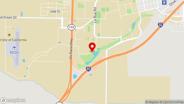 Google Map of 1046 Garrod Drive, Davis, CA 95616