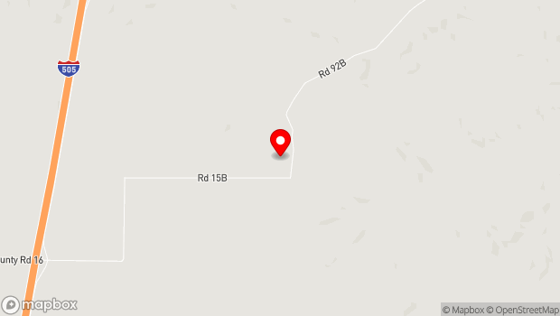 Google Map of 12300 County Road 92B, Zamora, California 95698