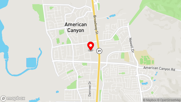 Google Map of 300 Crawford Way, American Canyon, CA 94503