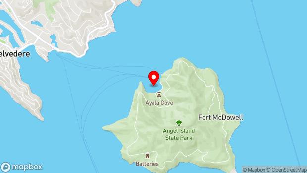 Google Map of Ayala Cove, Belvedere Tiburon, CA 94920