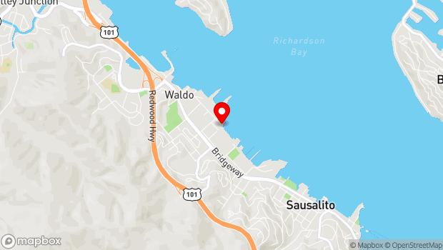 Google Map of 600 Gate 5 Road, Sausalito, CA 94965