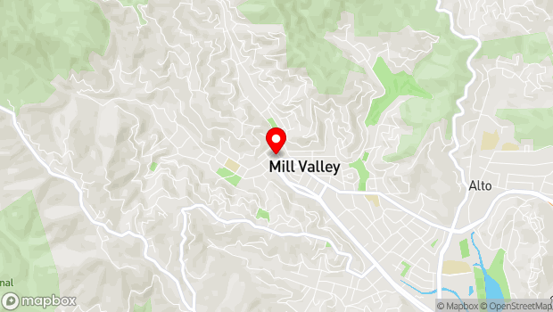 Google Map of 19 Corte Madera Avenue, Mill Valley, CA 94941