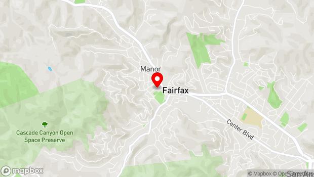 Google Map of 12 School Street, Suite 12D, Fairfax, CA 94930