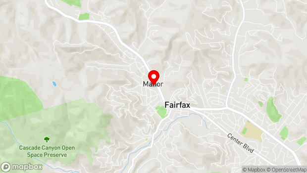 Google Map of 2097 Sir Francis Drake Blvd, Fairfax, CA 94930, Fairfax, CA 94930