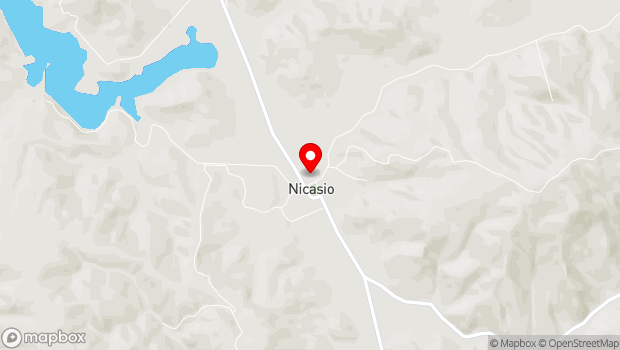 Google Map of 1 Old Rancheria Road, Nicasio, CA 94946