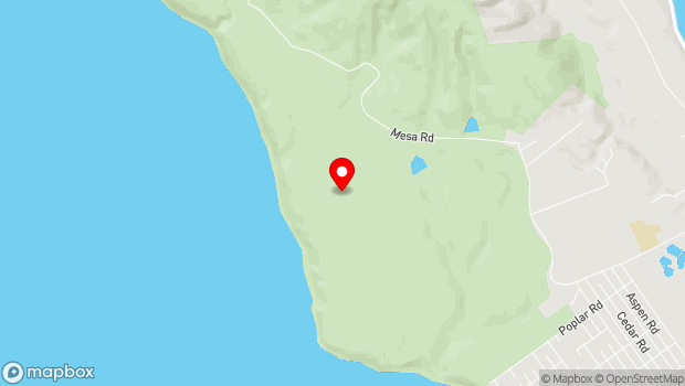 Google Map of 451 Mesa Rd., Bolinas, CA 94924